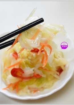柔阿嬤配方~自製『味醂+台式泡菜』