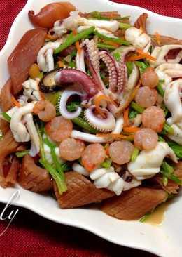 Xo干貝醬炒三鮮