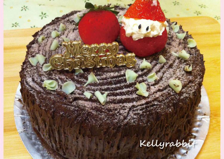 草莓老公公蛋糕