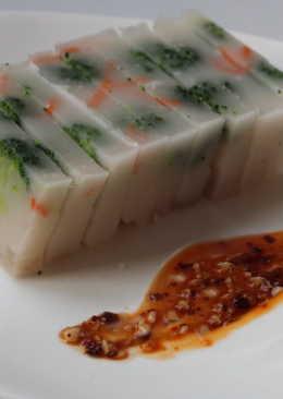 綠蔬豬皮凍
