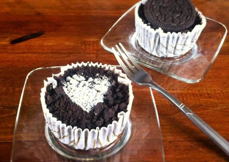 免烤Oreo起司杯子蛋糕