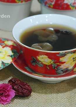 新春開運茶❖桂圓紅棗茶