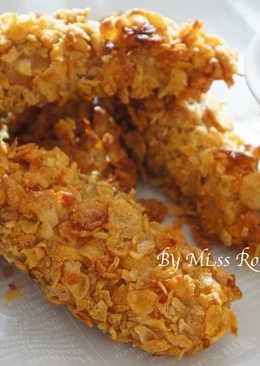 【免油炸】玉米片雞柳