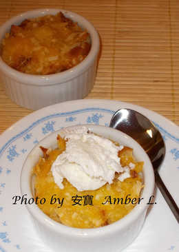 鳳梨椰子麵包布丁 Piña Colada Bread Pudding