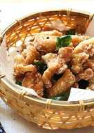 ♥開動with貓♥鹹酥雞