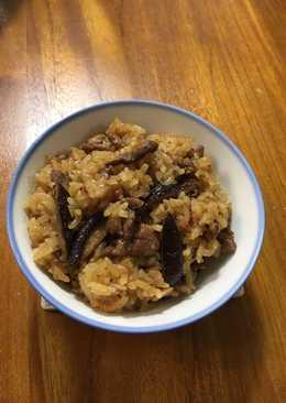 電鍋料理—櫻花蝦油飯