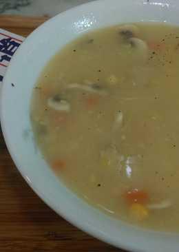 【北海道白醬湯】蘑菇玉米濃湯