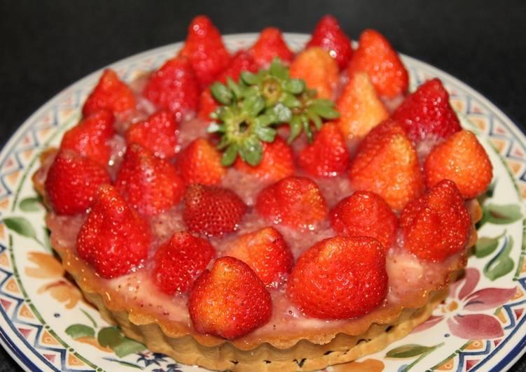 卡士達草莓塔