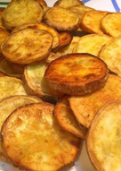 橄欖油香煎番薯片