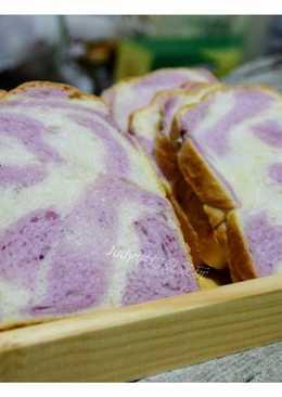 紫薯雙色吐司