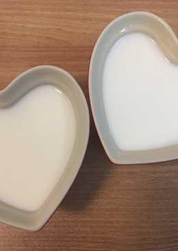 簡易牛奶布丁
