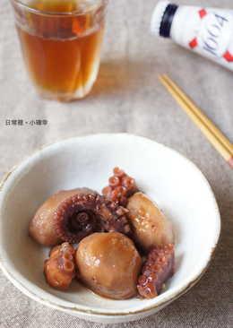 里芋章魚煮