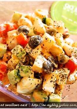黑q洋芋蛋沙拉.柯媽媽の植物燕窩