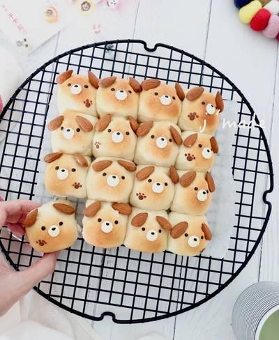 狗狗手撕麵包