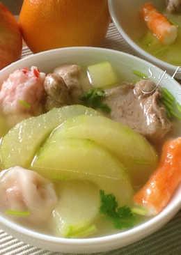 大黃瓜丸子排骨湯