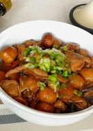 【源釀醬油】栗子燒雞