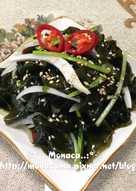 韓式涼拌海帶미역무침