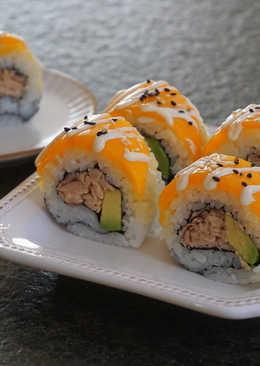 芒果酪梨鮪魚壽司