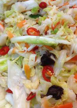 台式黃金梅子泡菜~配自炸臭豆腐滋味ㄧ級棒