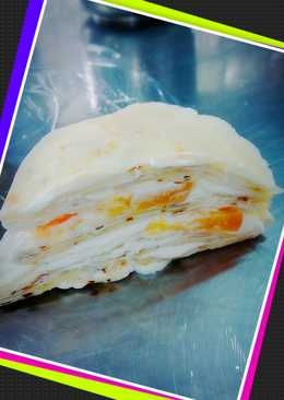水蜜桃千層蛋糕