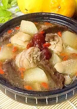 老菜脯蘿蔔雞湯