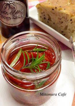 義式油漬蕃茄(自製蕃茄乾)
