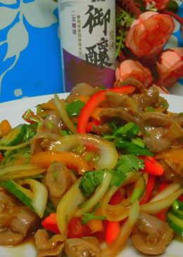 【御釀拌淋風味】果蔬拌雞胗