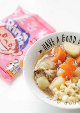 【味王泡麵創意秀】馬鈴薯燉肉王子麵