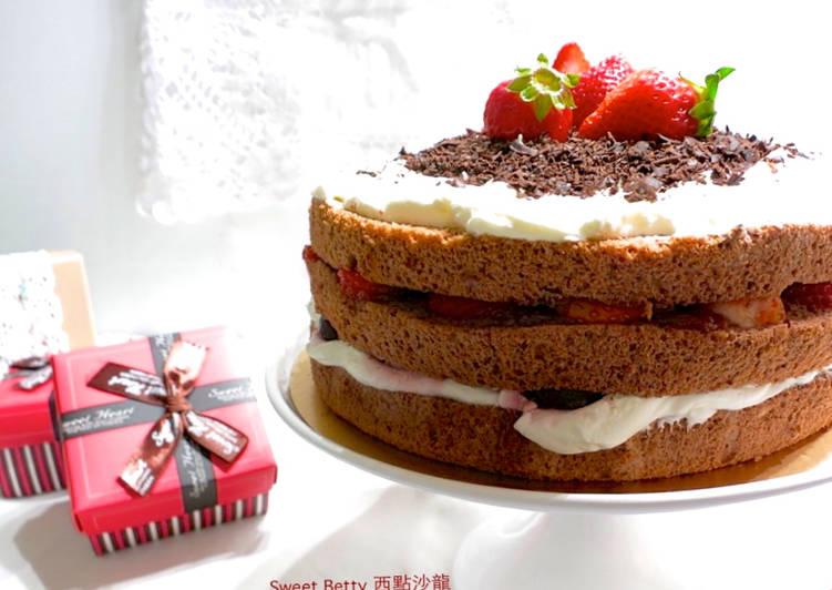 簡易黑森林蛋糕