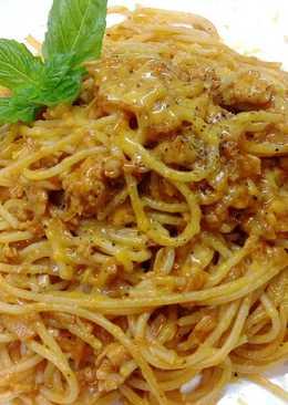 韓式辣味鮪魚義大利麵