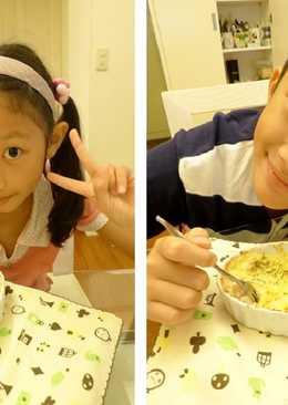 焗烤馬鈴薯鮪魚沙拉~親子下廚好好玩!