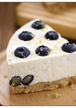 藍莓檸檬生乳酪蛋糕(免烤)