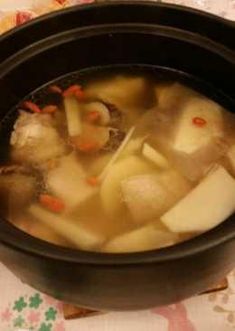 竹筍香菇雞湯