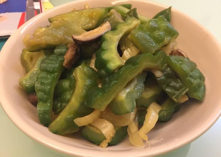 涼瓜甜菜炒冬菇