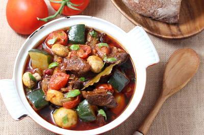 [醬好燉]番茄蘑菇燉牛腩