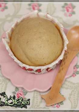 黑糖栗子蒸蛋糕