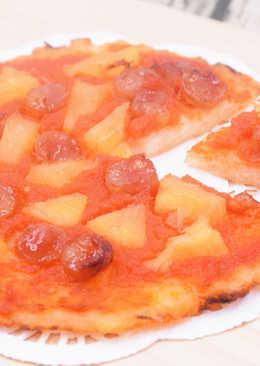 米夏威夷Pizza (無奶無蛋無麵粉)