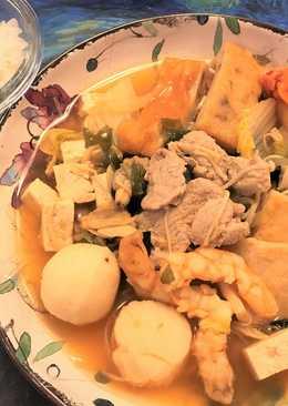 海陸豆腐鍋
