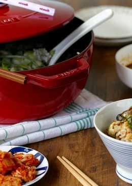 韓式牡蠣炊飯
