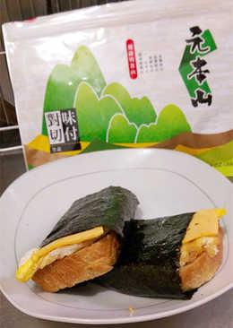 【元本山幸福廚房】海苔吐司捲