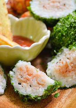 西瓜飯糰肉丸子套餐