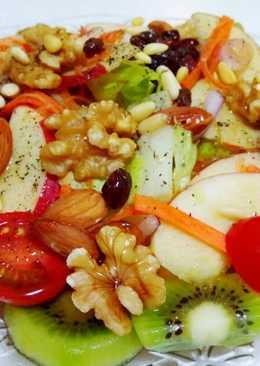 蔬果堅果沙拉