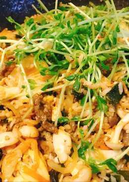 韓式泡菜牛肉飯