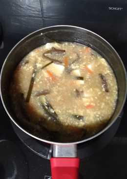 豆腐酸辣湯