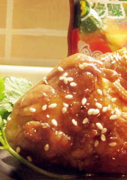 燒肉御飯糰-可果美咖哩火鍋高湯