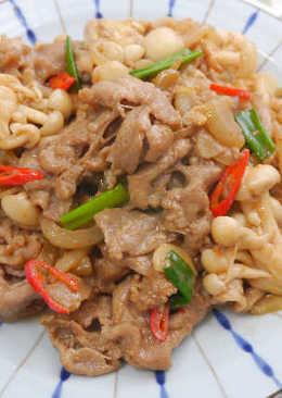 辣豆腐乳燒肉