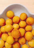 橄欖油酥炸手工地瓜球