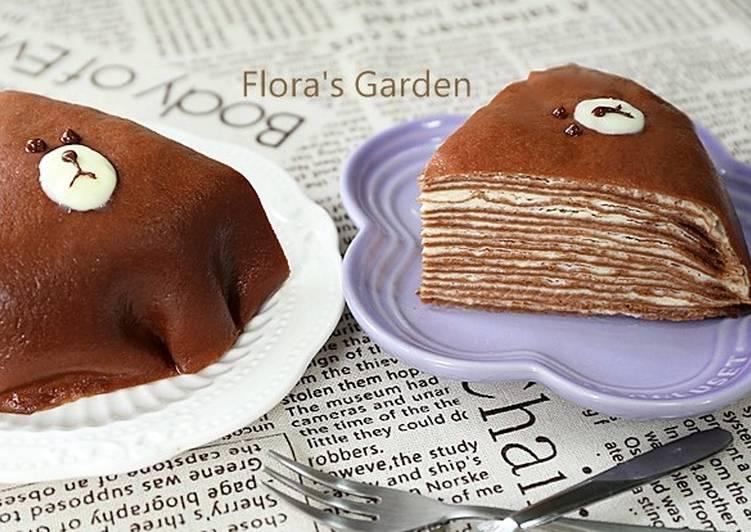 熊大法式千層蛋糕