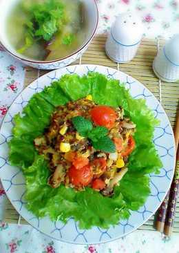 原味料理- 藜麥蒟蒻蔬食褒飯(素)