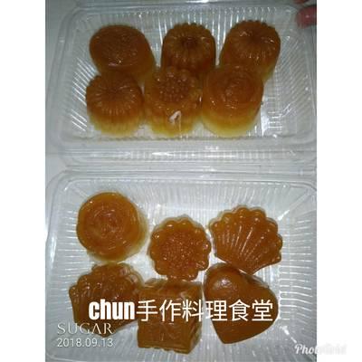 椰糖杏仁奶果凍月餅
